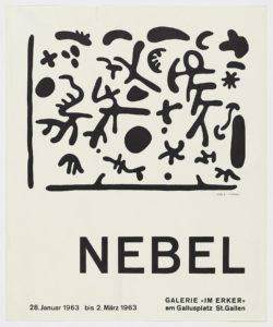 Galerie im Erker, 1963, Nebel