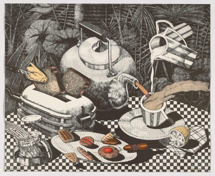 Serie desayunos. Alicia, 1992, Fernando Bellver