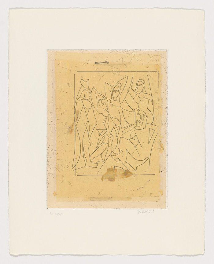 De Cranach a Lichtenstein XI, Manolo Valdés