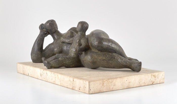 Maternidad con niño, 1980, Joaquín Donaire
