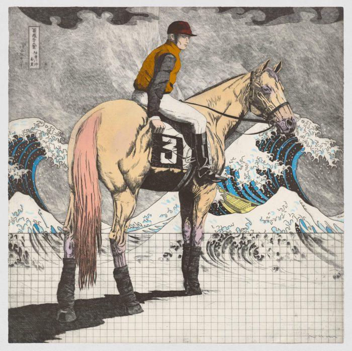 Historia de una carrera. Hokusai & Degas, 1989, Fernando Bellver