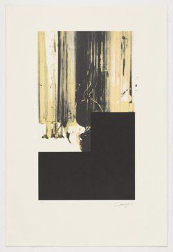 Sin título. Ed. Avant la lettre - Fuendetodos Aniversario Goya 2013, Rafael Canogar