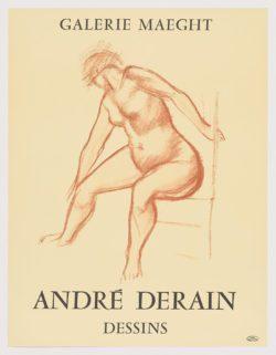 Dessins. Galerie Maeght, André Derain