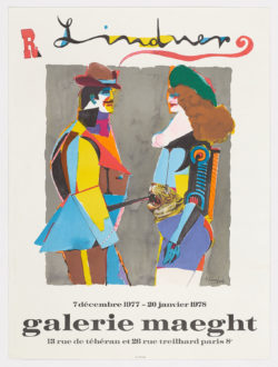 Galerie Maeght - Couple face a face, Richard Lindner