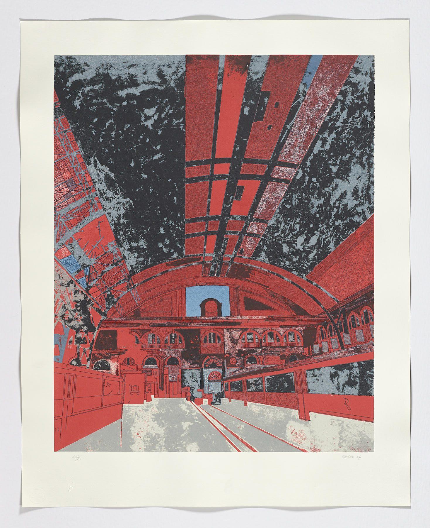 Estación de Francia (versión 1), 2007, Jorge Castillo