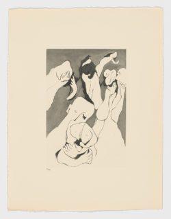 Aguafuertes y puntasecas X, Francisco Bores