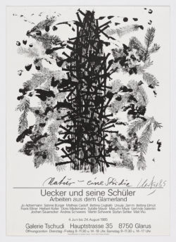 Galerie Tschundi, 1985, Günther Uecker