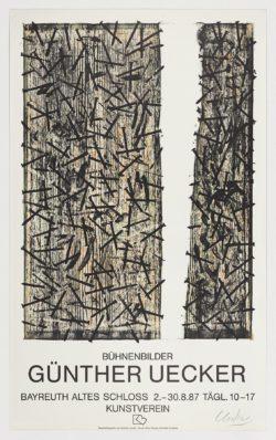 Bühnenbilder, 1987, Günther Uecker