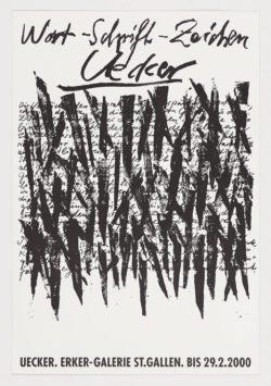 Erker-Galerie, 2000, Günther Uecker