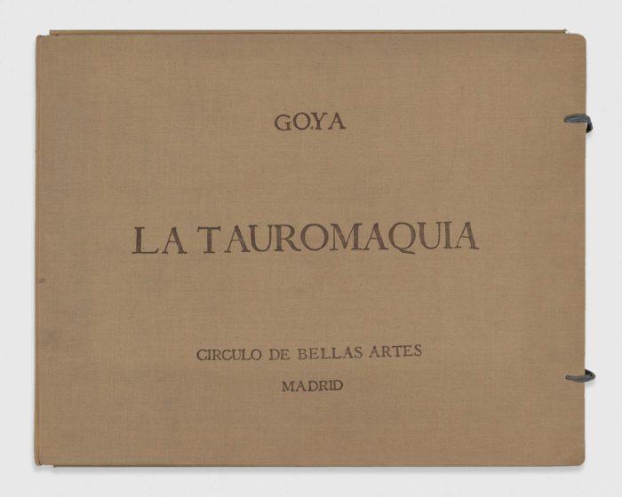 La Tauromaquia, Francisco de Goya