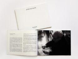 Catálogo Juan Alcalde / con litografía