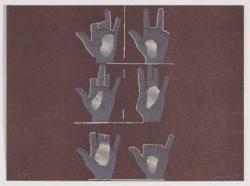 Composición con manos, Rafael Canogar