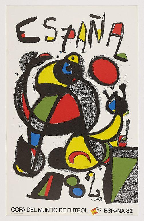 La fiesta, 1982, Joan Miró