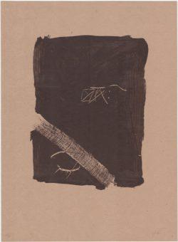 Llambrec material V, Antoni Tàpies