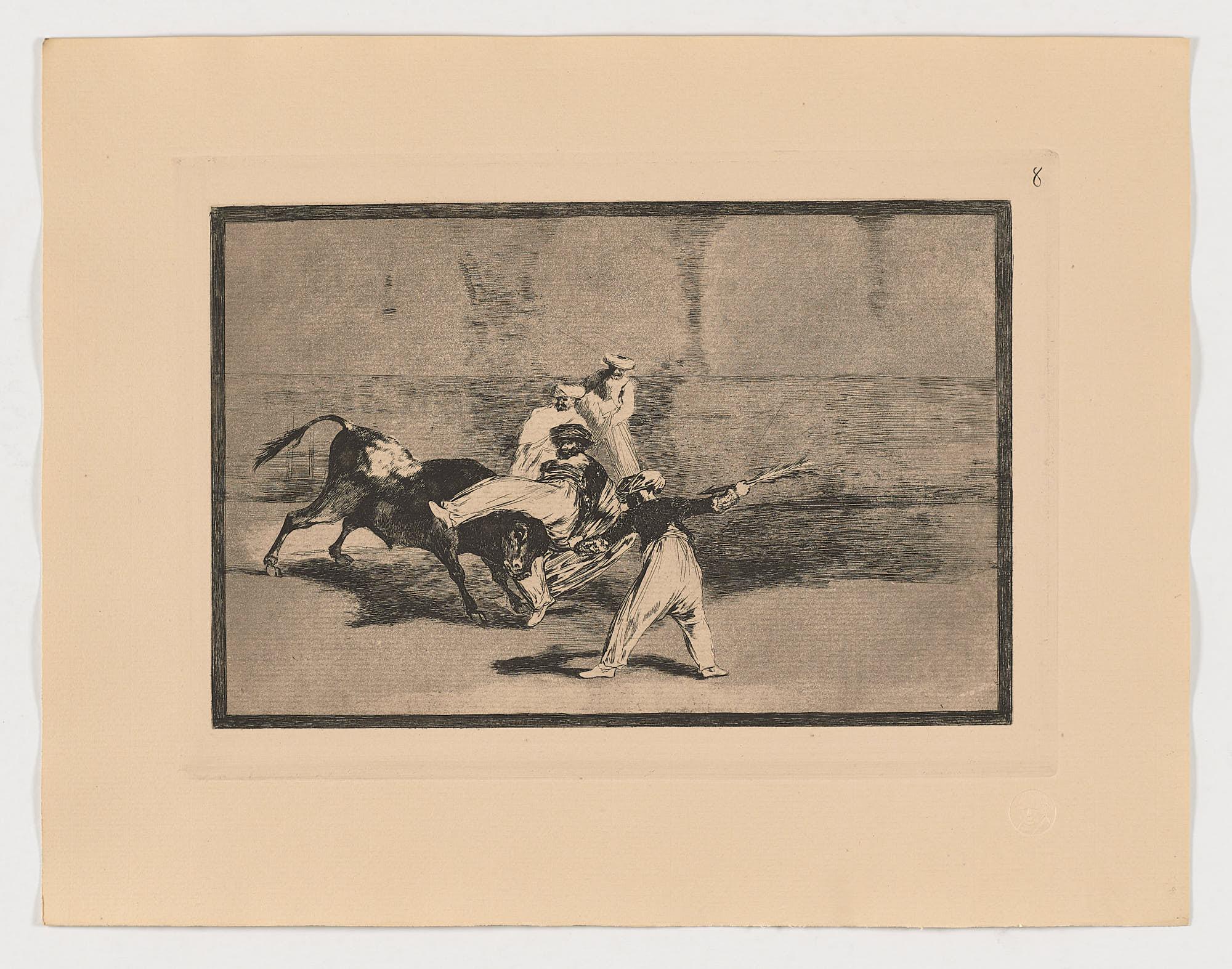 La Tauromaquia (8), Francisco de Goya