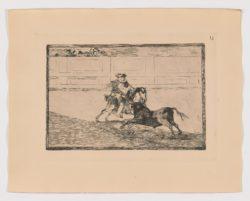 La Tauromaquia (13), Francisco de Goya