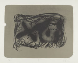 Erinnerungen IV, 1988, Antoni Tápies