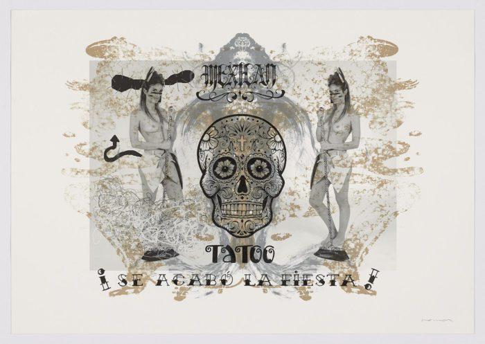 Mexican tatoo, ¡se acabó la fiesta!, 2020, Fernando Bellver (7)