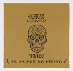 Mexican tatoo (1), 2020, Fernando Bellver