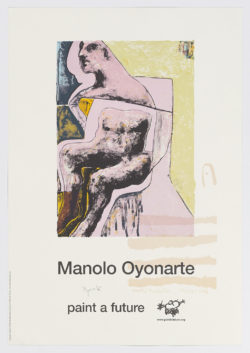Paint a future, Manolo Oyonarte