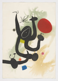 La Serpentine, 1978, Joan Miró