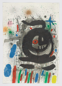 Club 48, 1968, Joan Miró