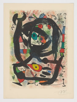 County Museum of Art, 1969, Joan Miró