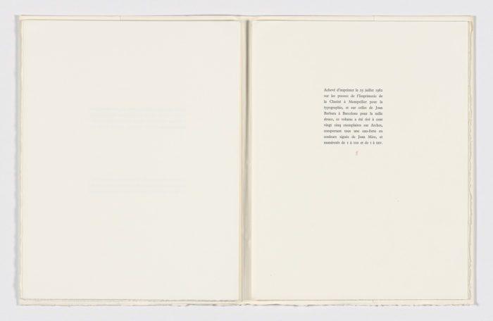 La Révolte des Caractéres (The revolt of the Letters), 1982, Joan Miró