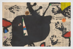 Les Mains sale, 1975, Joan Miró