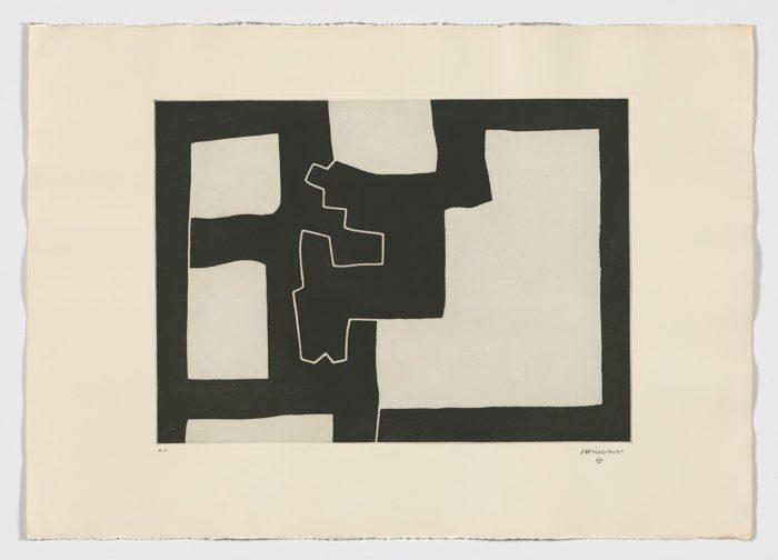 Inguru IV, 1968, Eduardo Chillida