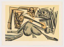 Tagebücher (planche IX), 1988, Antonio Saura