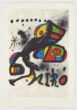 Homenatge a Gaudí (avant la lettre), 1979, Joan Miró